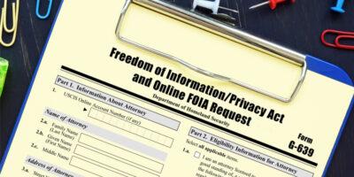 Foia request form
