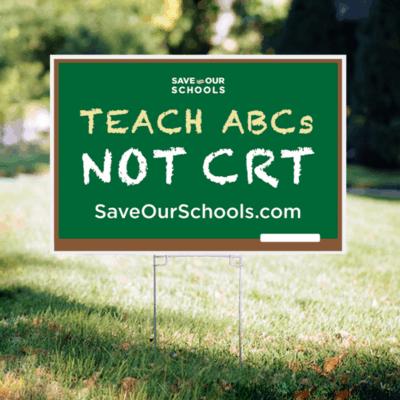 Saveourschools yardsign