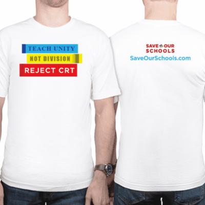 T shirt saveourschools
